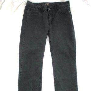 ~LEE RIDERS~ Jeans BLACK Denim COMFY Womens Sz 36